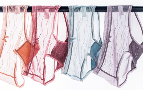 猫人冰丝无痕透气薄款内裤
